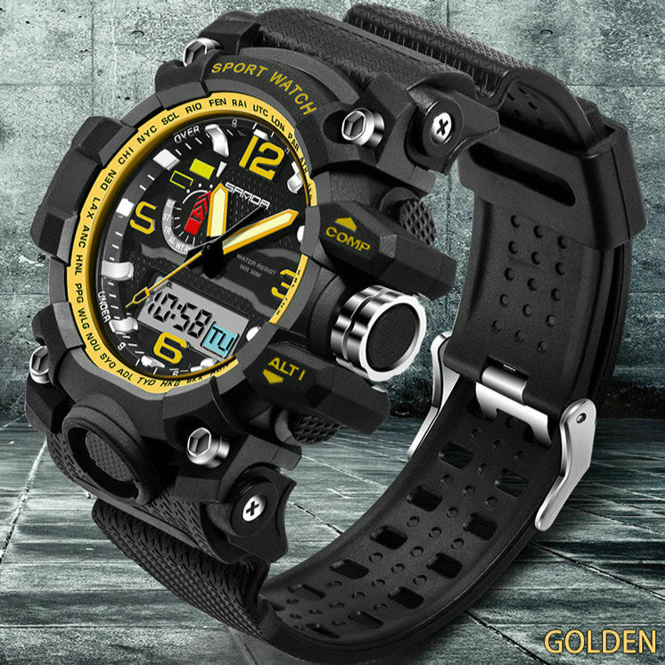 Compass Alarm 30M Waterproof Chronograph Shock watches