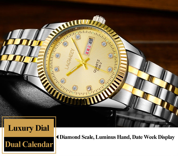 2018 Top Brand Luxury Diamond Dial Businessmen Watches!