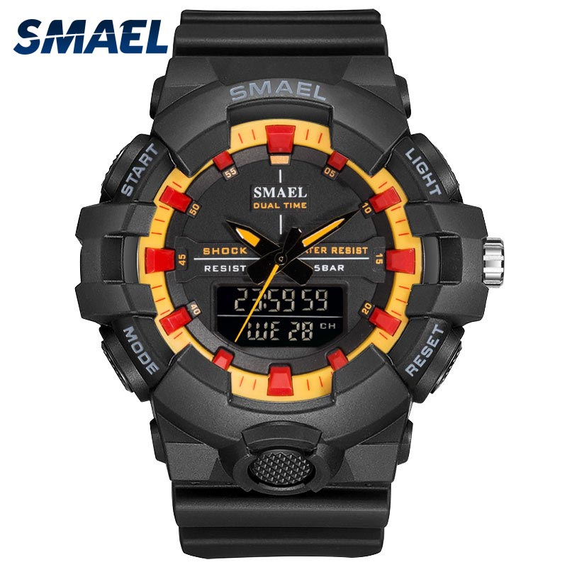 Hot Summer Military LED Digital Waterproof Quartz Wristwatches-Offer