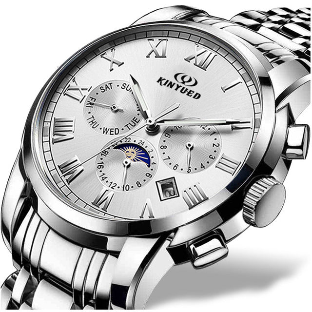 Top Brand Waterproof Multi functional Chronograph Men Sports Watches!