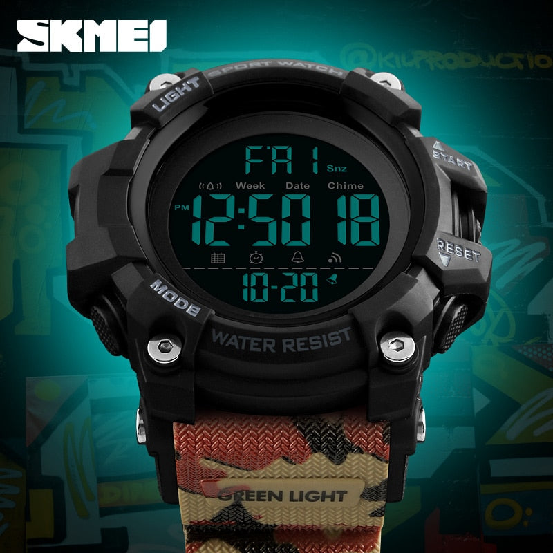 Waterproof Sports Luxury Brand Fashion Military Digital Watch!