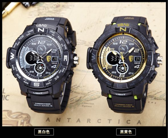 New Military Waterproof Sports Watches