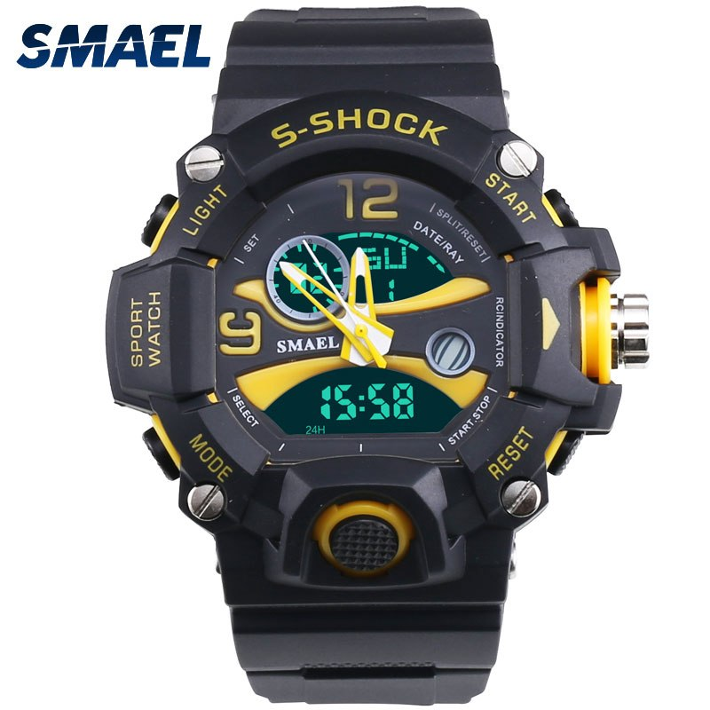 Hot Clock Military Silicone Sport Wristwatches