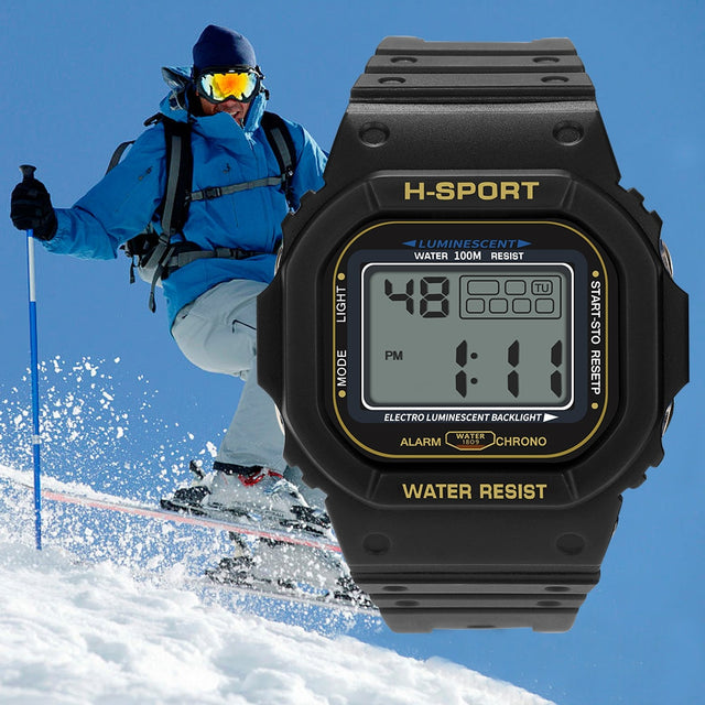 2019 Waterproof Digital Military electronic Sport Watch