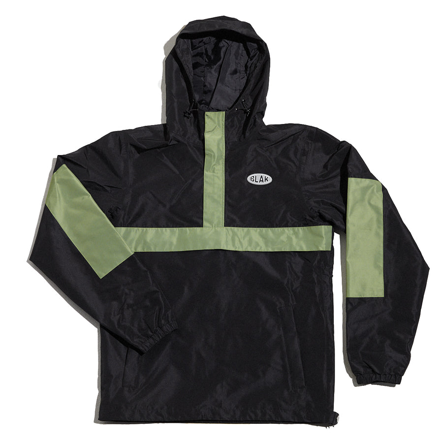 Anorec Jacket Black & Green