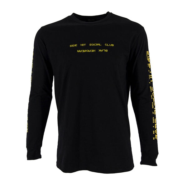 Side Hit Social Club Long Sleeve Tee