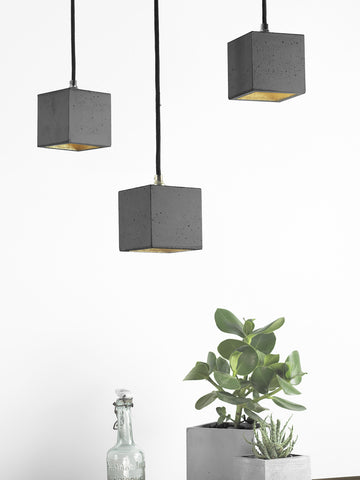 GANTlights - [B6] Pendant Light Cubic Small