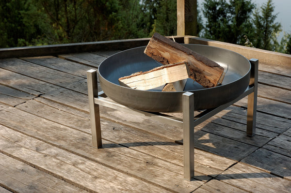 ArpeStudio - Crate 630 steel fire pit - HomeDesign