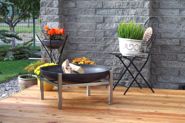 ArpeStudio - Crate 790 steel fire pit - HomeDesign