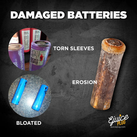 Damaged Battery Inforgraphic