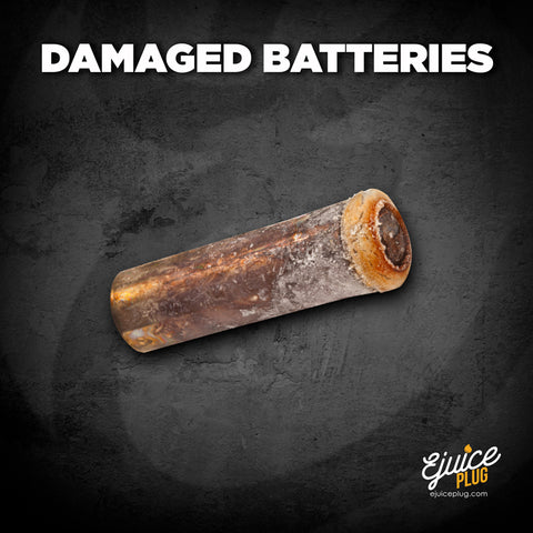 Damanged Battery Graphic
