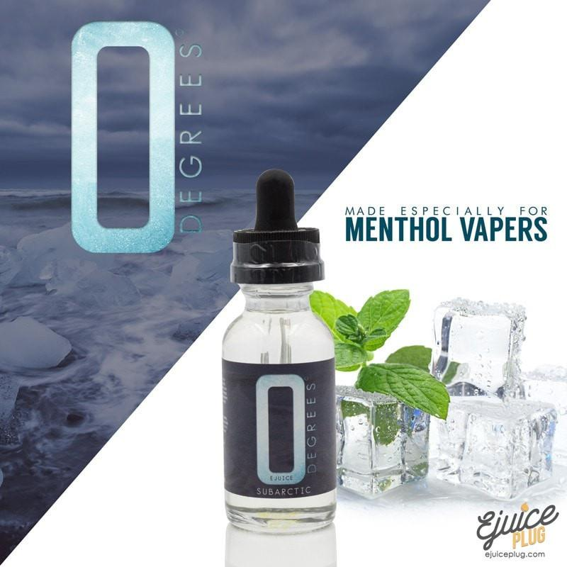 Subartic 30ML (Menthol) By 0 Degrees