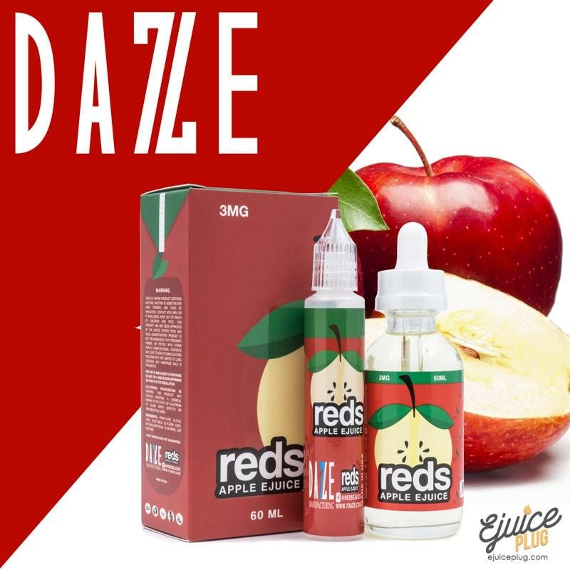Red's Apple E-Juice by 7 Daze 60mL Product Image
