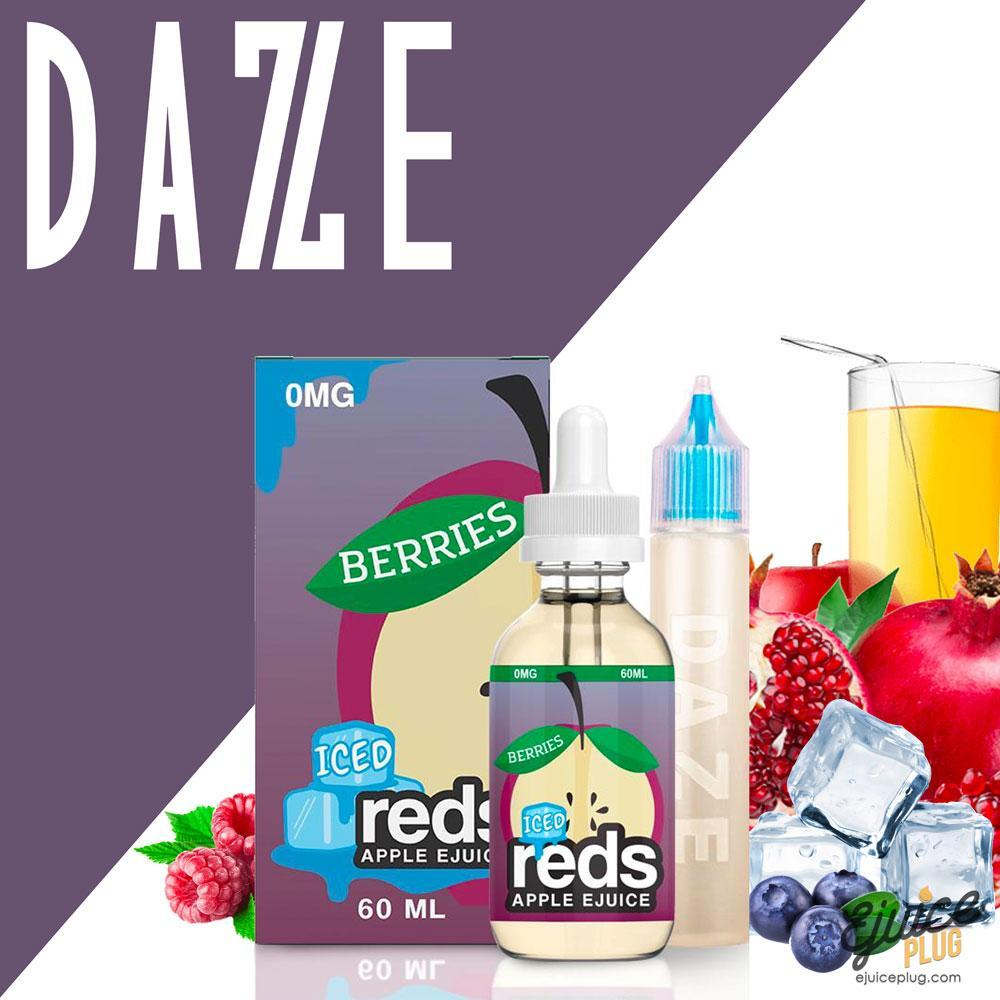 7 Daze,- Berries Reds Iced E-Juice by Vape 7 Daze 60mL - E-Juice Plug