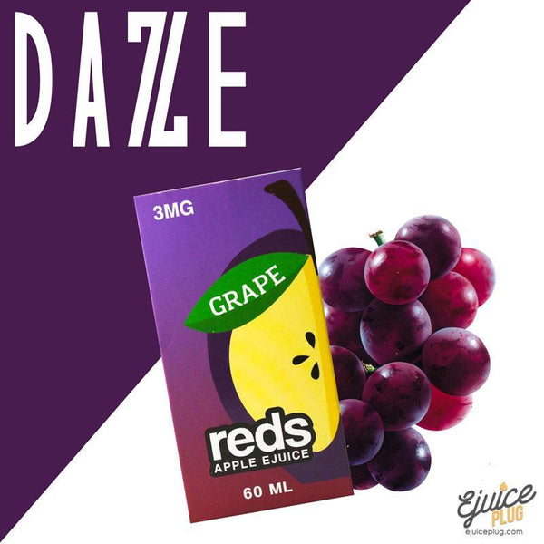 7 Daze,- Grape Red's Apple E-Juice by 7 Daze 60mL - E-Juice Plug