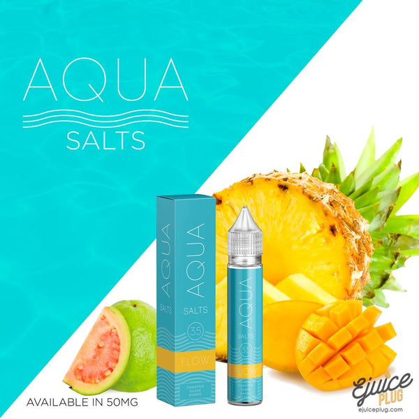 Aqua Salts,- Flow by Aqua Salts 30ml - E-Juice Plug