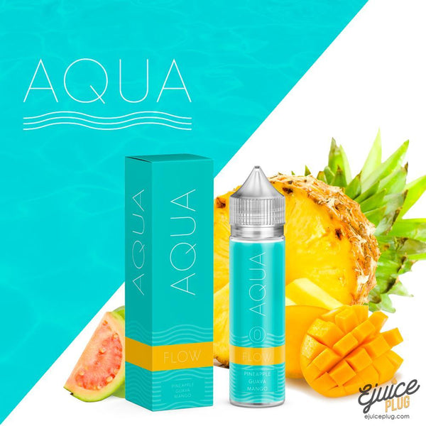 Aqua,- Flow by Aqua 60ml - E-Juice Plug