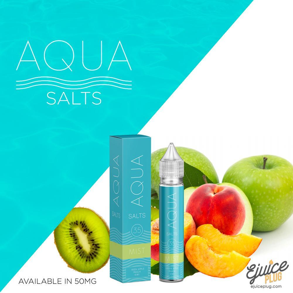 Aqua Salts,- Mist by Aqua Salts 30ml - E-Juice Plug