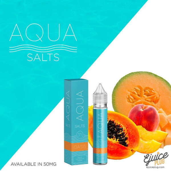 Aqua Salts,- Oasis by Aqua Salts 30ml - E-Juice Plug