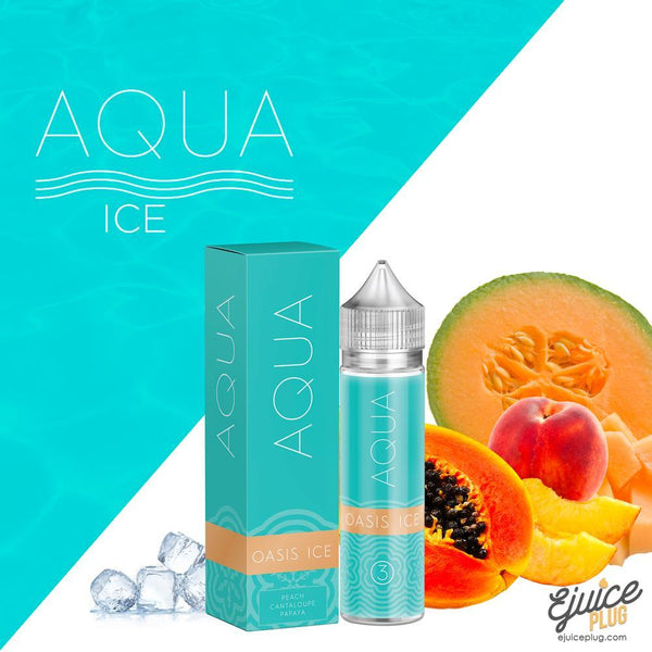 Aqua,- Oasis Ice by Aqua 60ml - E-Juice Plug