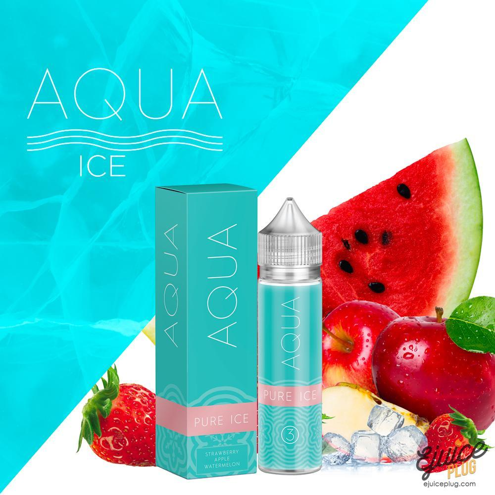 Aqua,- Pure Ice by Aqua 60ml - E-Juice Plug