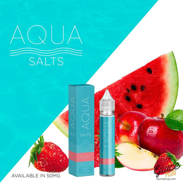 Aqua Salts,- Pure by Aqua Salts 30ml - E-Juice Plug