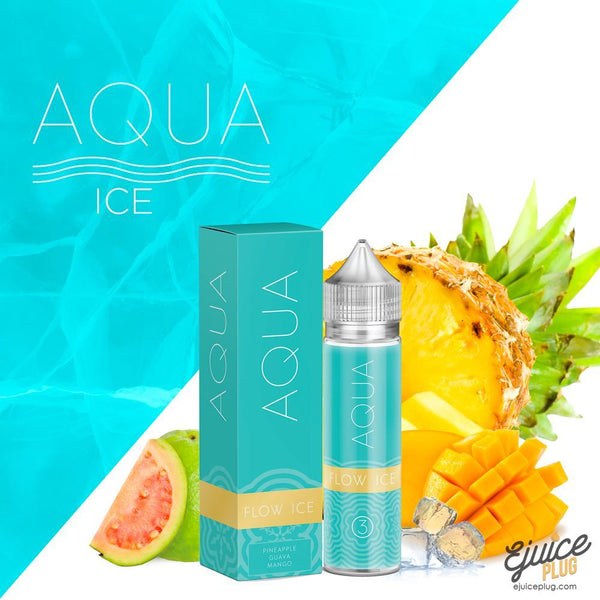Aqua,- Flow Ice by Aqua 60ml - E-Juice Plug