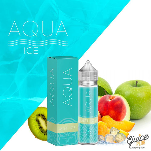 Aqua,- Mist Ice by Aqua 60ml - E-Juice Plug