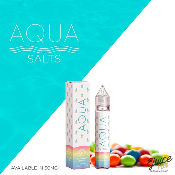 Aqua Salts,- Rainbow Drops by Aqua Salts 30ml - E-Juice Plug