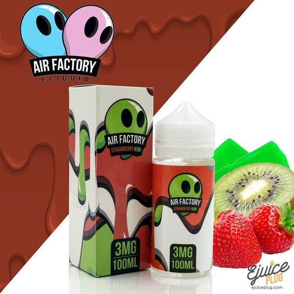 Air Factory Eliquid,- Air Factory E Liquid - Strawberry Kiwi - E-Juice Plug