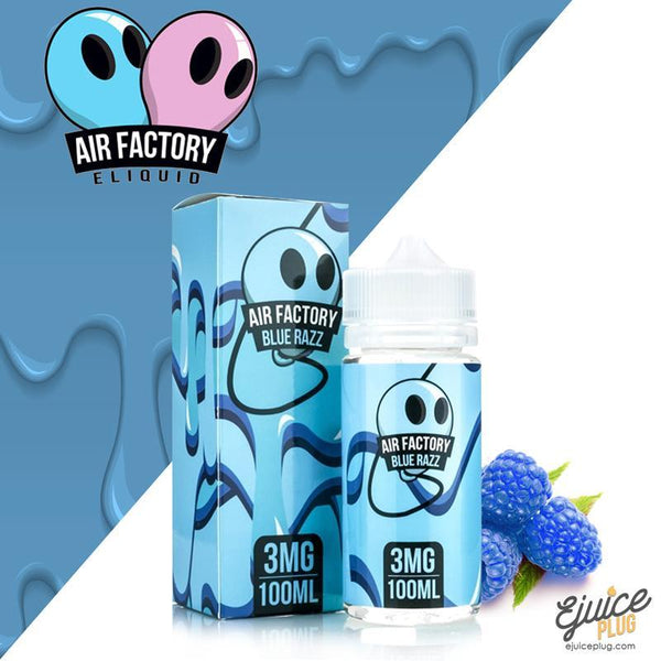 Air Factory Eliquid,- Blue Razz by Air Factory E-Liquid - E-Juice Plug