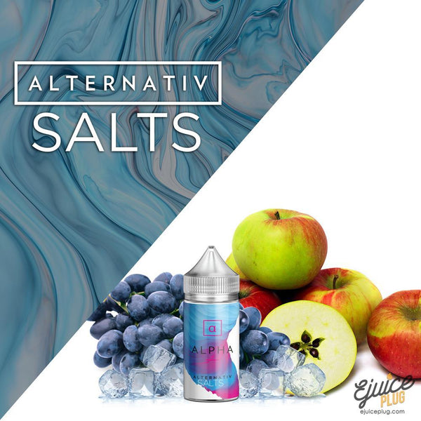 Alternativ Salt,- Alpha by Alternativ Salt E-Liquid - E-Juice Plug