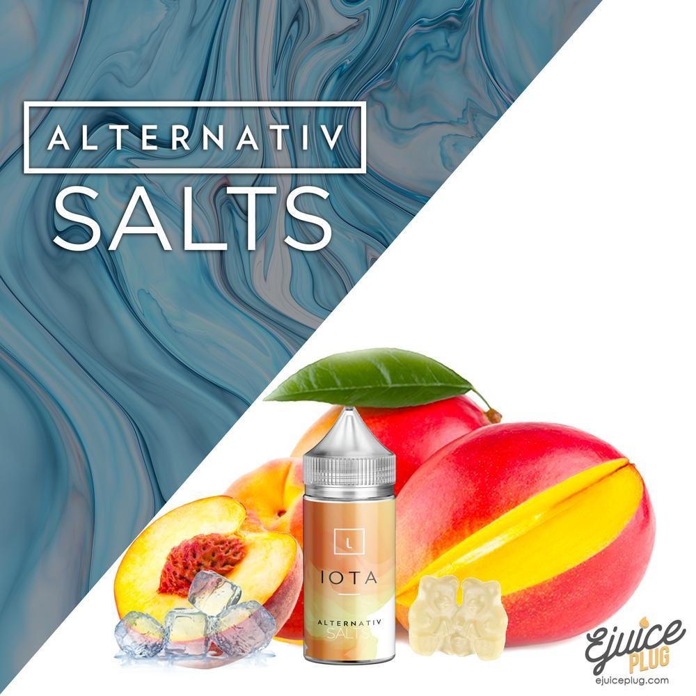 Alternativ Salt,- Iota by Alternativ Salts E-Liquid - E-Juice Plug