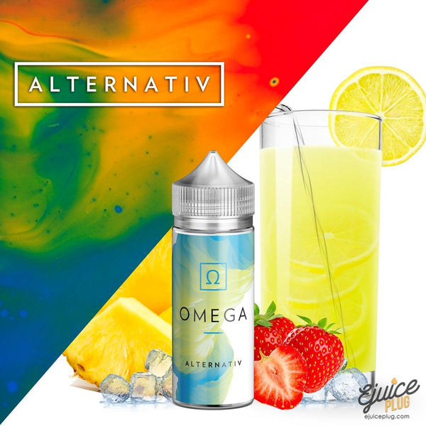 Alternativ,- Omega by Alternaiv E-Liquid - E-Juice Plug