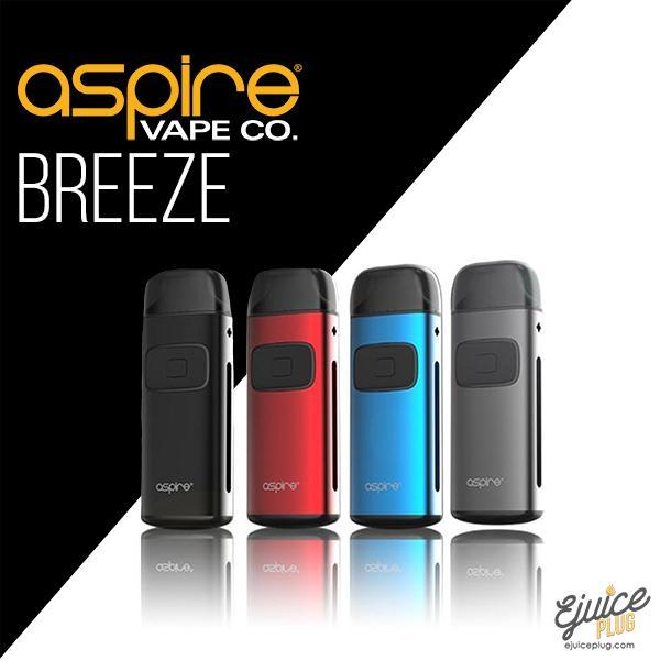 Aspire,- Aspire Breeze Starter Kit - E-Juice Plug