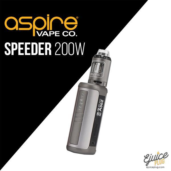 Aspire,- Aspire Speeders Starter Kit (Athos Tank and Speeder 200W Box Mod) - E-Juice Plug