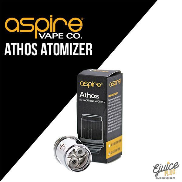 Aspire,- Aspire Athos Replacement Atomizer Coils A5 (0.13 ohm's) - E-Juice Plug