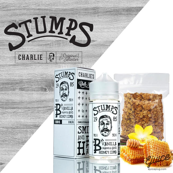 Stumps,- B by Stumps Charlie's Chalk Dust - E-Juice Plug
