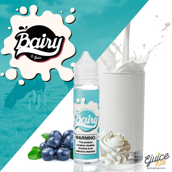 Bairy,- Bairy Blueberries and Cream 60ML - E-Juice Plug