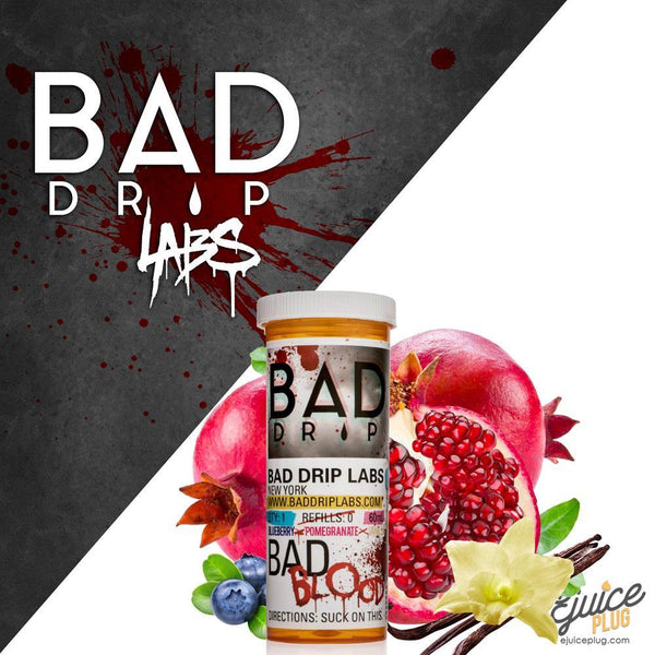 Bad Drips E-Liquid,- BAD BLOOD By BAD DRIP - E-Juice Plug