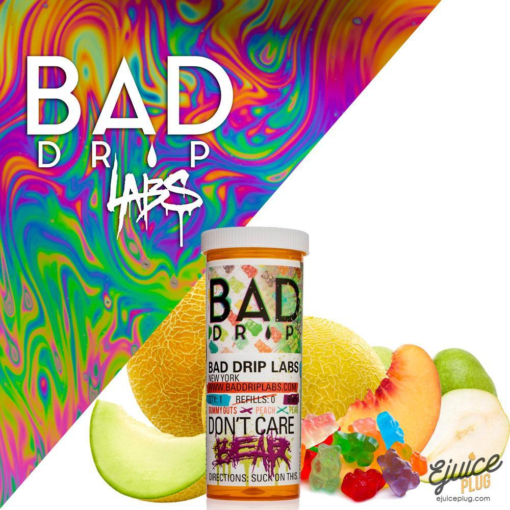 Bad Drips E-Liquid,- DON'T CARE BEAR By BAD DRIP - E-Juice Plug