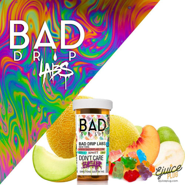 Bad Drips E-Liquid,- DON'T CARE BEAR SALT By BAD DRIP - E-Juice Plug