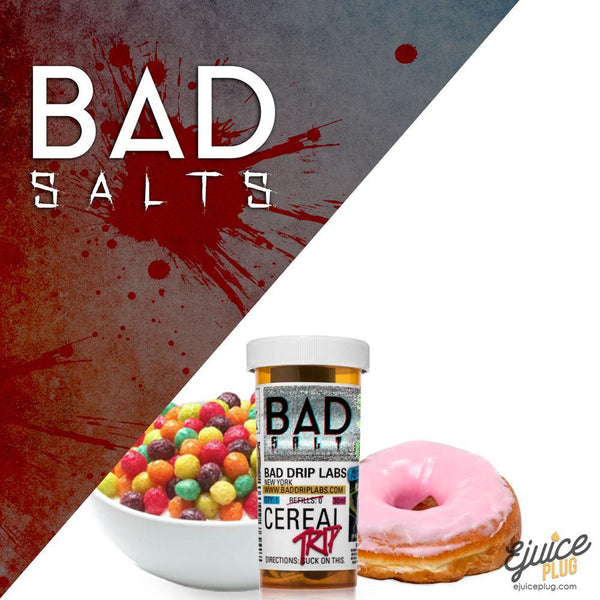 Bad Drips E-Liquid,- CEREAL TRIP SALT By BAD DRIP - E-Juice Plug