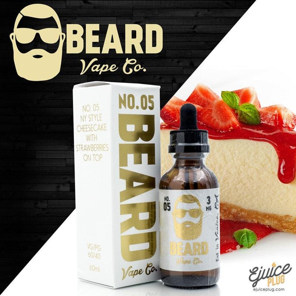 Beard Vape,- Beard Vape Co. No. 5 60ml - E-Juice Plug