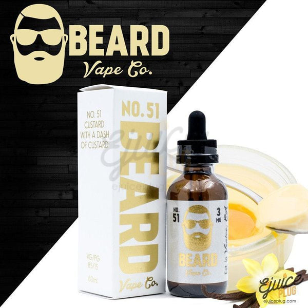 Beard Vape,- Beard Vape Co. No. 51 60ml - E-Juice Plug