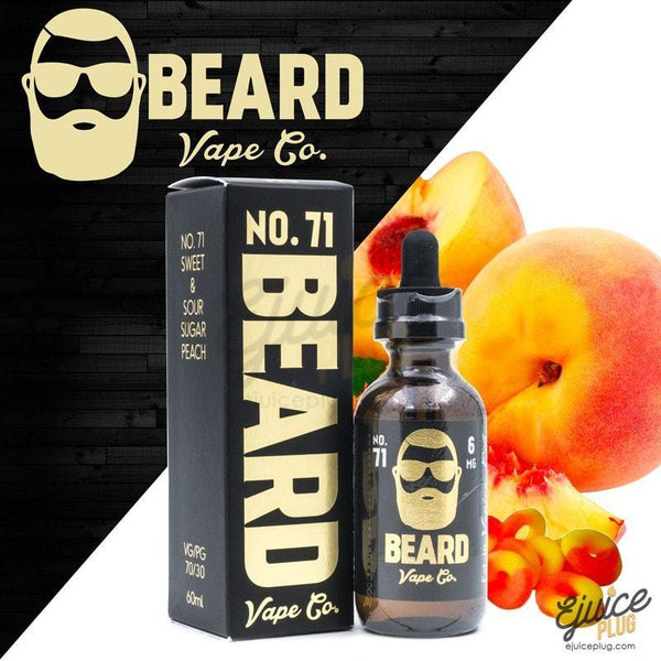 Beard Vape,- Beard Vape Co. No. 71 60ML - E-Juice Plug