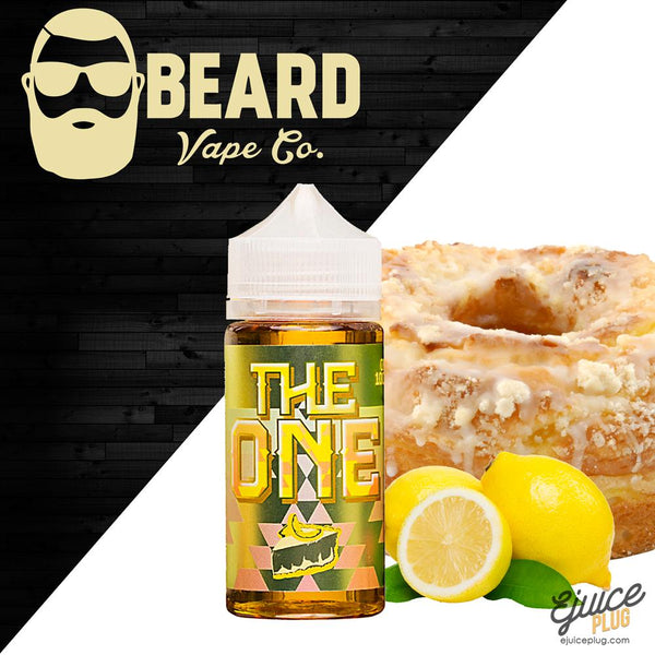The One Lemon 100ml by Beard Vape Co Eliquid