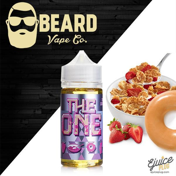 The One Strawberry by Beard Vape Co Eliquid