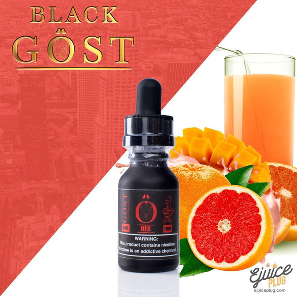 Gost,- Black Gost E-Juice by Red Gost 15ml - E-Juice Plug