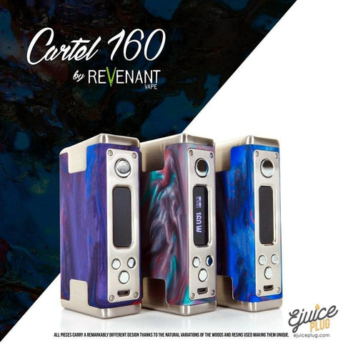 Revenant Vapes,- Authentic Revenant Cartel 160 Box Mod - E-Juice Plug